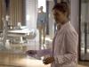 "TERRA NOVA:  Elisabeth (Shelley Conn) works in the infirmary in the ""Instinct"" episode of TERRA NOVA  airing Monday, Oct. 3 (8:00-9:00 PM ET/PT) on FOX.  ©2011 Fox Broadcasting Co.  Cr: Brook Rushton/FOX"