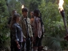 "TERRA NOVA: Mira (Christine Adams, R) meets with Josh (Landon Liboiron, C) and Skye (Allison Miller, L) in the ""What Remains"" episode of TERRA NOVA airing Monday, Oct. 10 (9:00-10:00 PM ET/PT) on FOX.  ©2011 Fox Broadcasting Co.  Cr:  Brook Rushton/FOX"